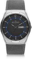 Skagen Melbye Gray & Blue Titanium Men's Watch