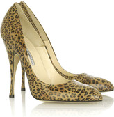 Starlette printed pumps