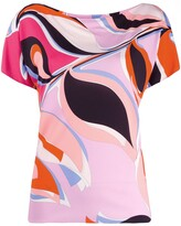 Emilio Pucci printed shortsleeved T-shirt
