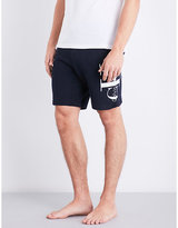 Calvin Klein Haro True Icon Logo-detail Cotton-jersey Shorts