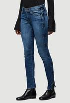 Singer22 Le Skinny Side Lace Up Jean