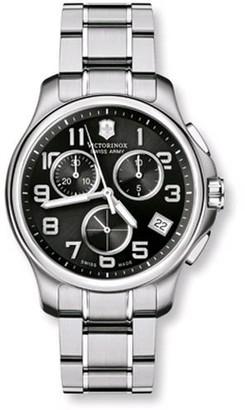 Victorinox Men's SWISSA-241453 Officer's Stainless Steel Watch