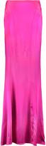 Roberto Cavalli Silk-blend maxi skirt