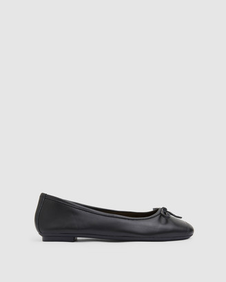 Sandler - Women's Black Ballet Flats - Alexa - Size One Size, 8 at The Iconic