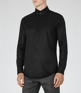 Reiss Jordan Collar Bar Shirt