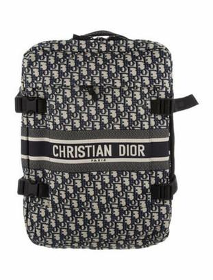 Christian Dior 2019 Small Diortravel Oblique Suitcase w/ Tags Blue