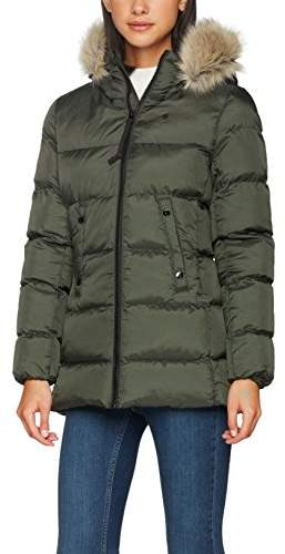 G Star Women's Whistler HDD Fur Sp Slim Coat Wmn Jacket