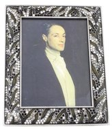 Jay Strongwater Embellished Picture Frame w/ Tags