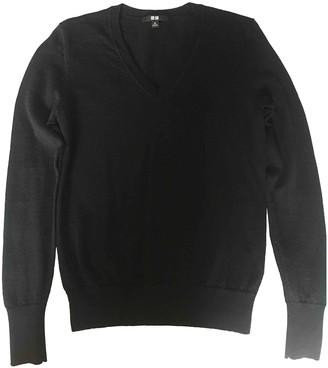 Uniqlo Black Wool Top for Women