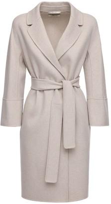 Max Mara 'S Arona Belted Wool Coat
