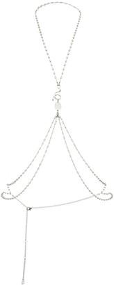 Panconesi Crystal-Embellished Body Chain