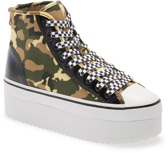 Steve Madden Stories Platform High Top Sneaker