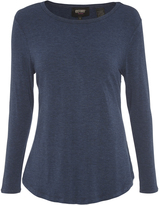 Oxford Maya Long Sleeve T-Shirt Nvy X