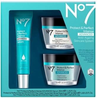 No7 Protect & Perfect Intense Advanced Skincare System Kit