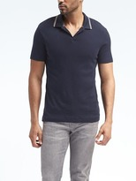 Banana Republic Mesh Sport Polo