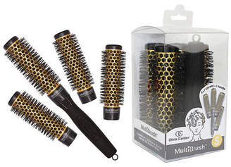 Olivia Garden Multi Brush MBKP26 with Handle, 5 Piece Kit