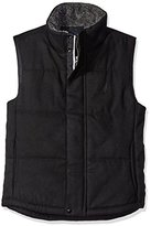 Nautica Men's Quilted Wool Vest