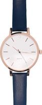 Portmans Leather Diamante Stud Watch