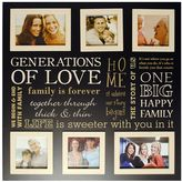"""New View Generations Of Love"""" 6-Opening Collage Frame"""