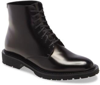 Saint Laurent Cesna Lace-Up Loafer Boot