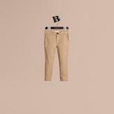 Burberry Lightweight Cotton Twill Chinos