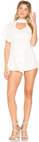 Somedays Lovin Whispering Playsuit in White. - size L (also in M,S,XS)