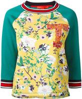 Hilfiger Collection - floral sweatshirt - women - Modal - XS
