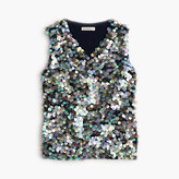 J.Crew Girls' sequin tank top