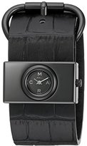 Marc by Marc Jacobs Women's MBM1395 Viv Analog Quartz Black Watch