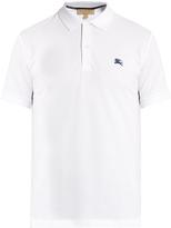 Burberry Hatley cotton-piqué polo shirt