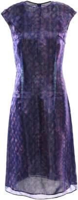 Maison Margiela Layered Holographic Organza Dress