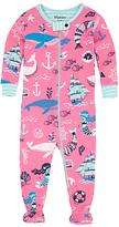 Hatley Baby Sweet Mermaid Sleepsuit, Pink