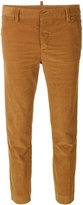 DSQUARED2 cropped corduroy trousers