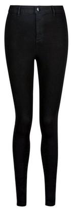 Dorothy Perkins Womens Black Belt Loop 'Lyla' Jeans, Black