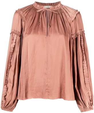 Ulla Johnson Maeve satin blouse