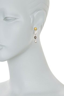 Gurhan Jordan Hammered Pave Diamond Ball Drop Earrings - 0.32 ctw