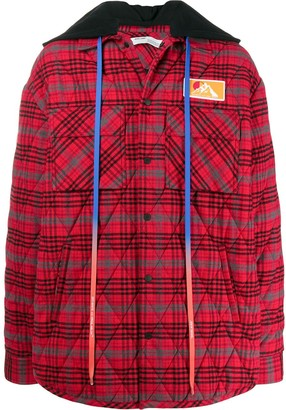 Off-White Padded Flannel Jacket