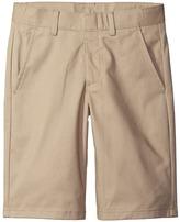 Nautica Flat Front Twill Shorts (Big Kids)