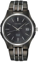 Seiko Men&s Black Dress Watch