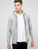Tommy Hilfiger Hoodie With Zip Up In Grey