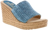 Sbicca Fabric Slide Wedge Sandals - Lainey