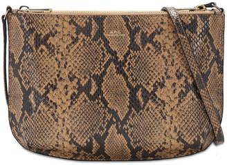 A.P.C. Sac Sarah Python Print Leather Bag