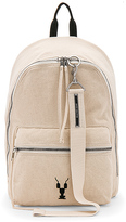 Rick Owens Zaino Backpack in Tan.