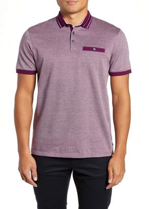 Ted Baker Munsan Slim Fit Short Sleeve Polo
