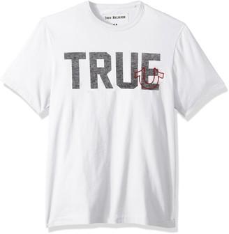 True Religion Men's True Slogan Tee