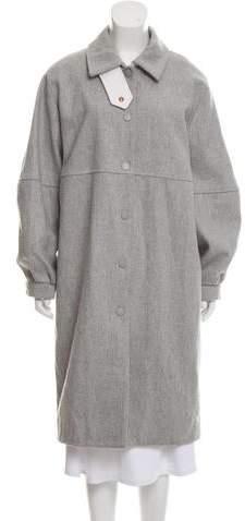 See by Chloe Virgin Wool Long Coat