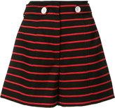 Proenza Schouler striped shorts - women - Cotton/Wool - 4