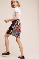 Monogram Garden Pop Skirt