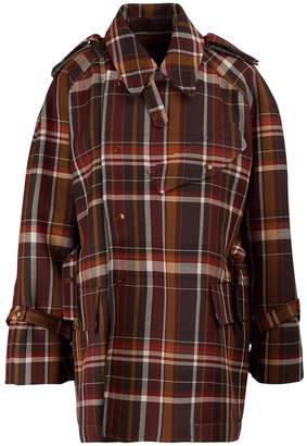 Acne Studios Plaid wool coat