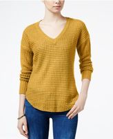 Ultra Flirt Juniors' Marled High-Low Sweater